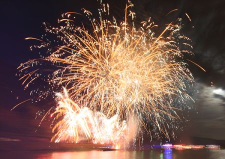 Rhein in Flammen Oberwesel Loreley